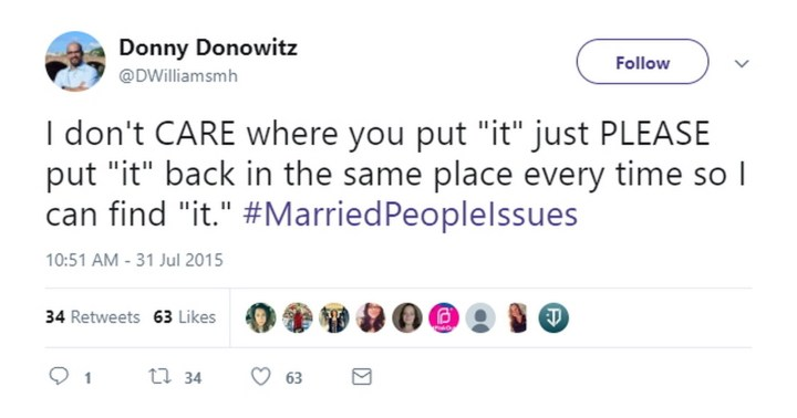 47 Best Marriage Tweets - Married? Good luck with that.