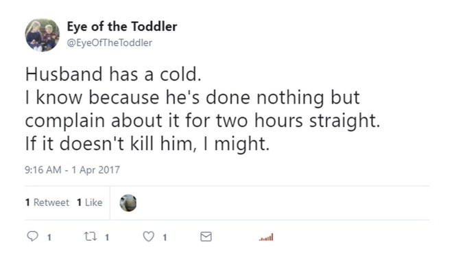 11 Funny Tweets and Memes About the Man Flu - That escalated quickly!