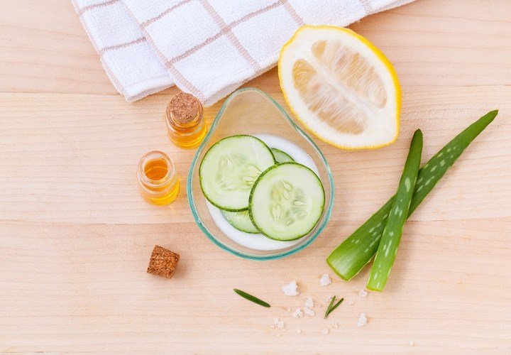 13 Natural Skin Care Products - Cucumber.