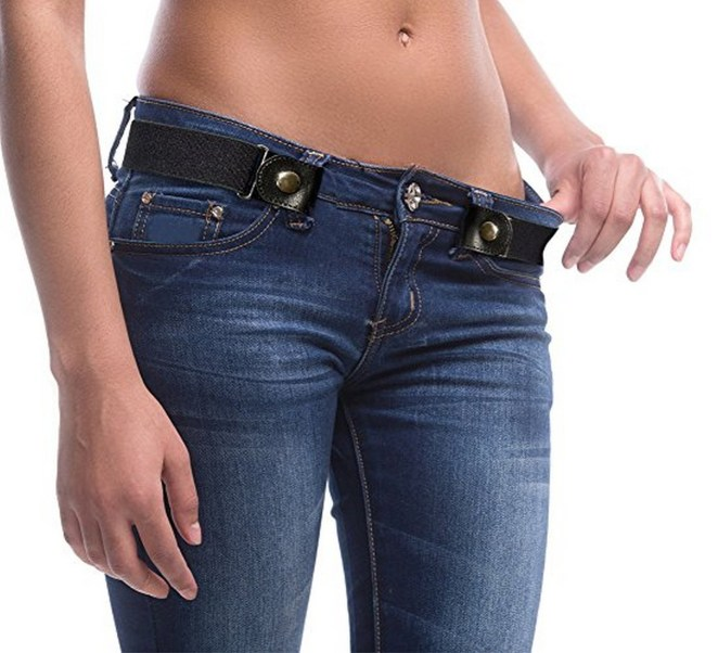 15 New Inventions - Buckle-free belt.