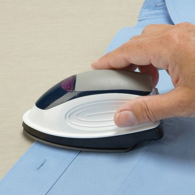 15 New Inventions - Electric portable mini iron.