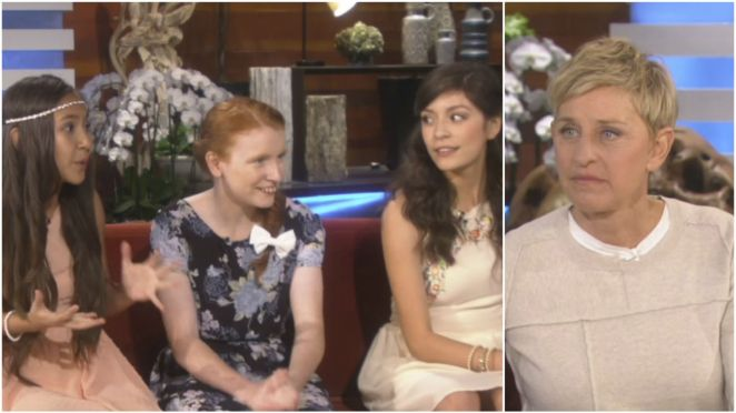 Ellen DeGeneres Meets 3 Inspiring Homecoming Queens.