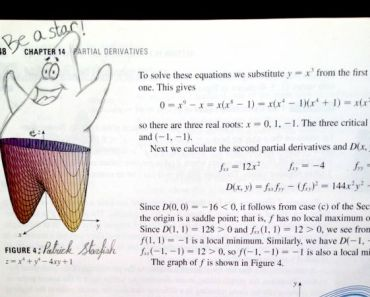 17 Hilarious College Textbook Doodles by Bored Students.