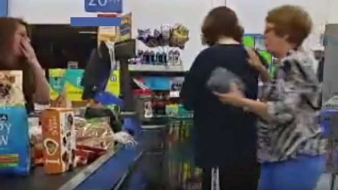 Good Samaritan Pays for Young Mother's Groceries at Walmart.
