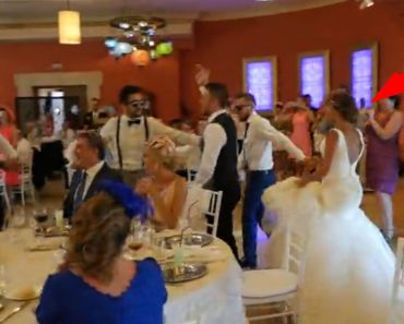 Husband And Groomsmen Deliver Surprise Performance For His Bride.