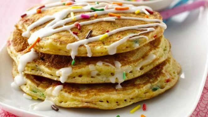 10 Best Pancake Recipes - Cake Batter Pancakes.
