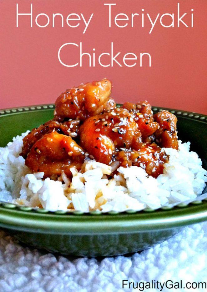 19 Chicken Recipes You Will Love - Honey Teriyaki Chicken.