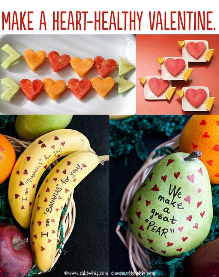 "21 Cute Ways to Say ""I Love You"" - Make a heart-healthy Valentine."