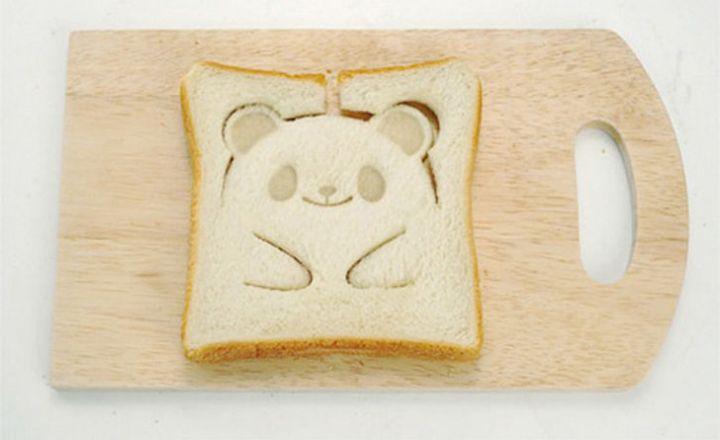 Panda bear toast never looked better.