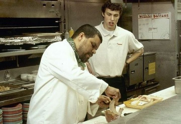 Chefs can be your best friend or make your working life a living hell. Try to build a good relationship with them.