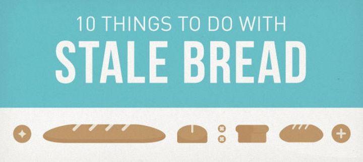 10 Ways to Soften Stale Bread.