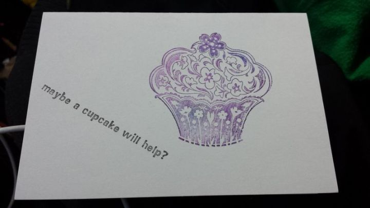Maybe a cupcake will help?