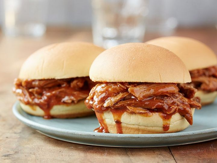 13 Crock-Pot Recipes - Slow Cooker Georgia Pulled Pork Barbecue.