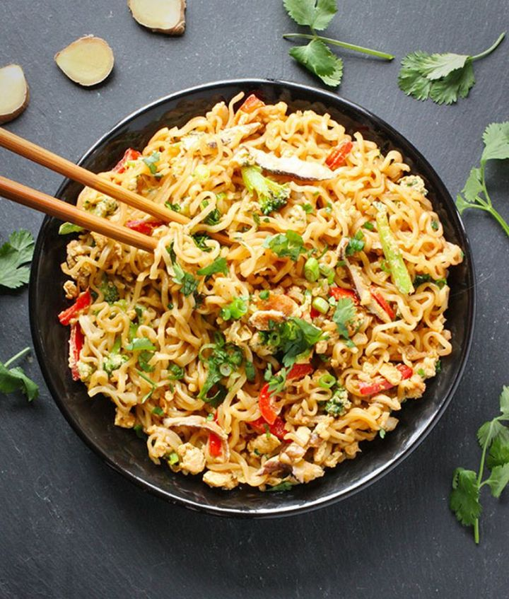 13 Delicious College Student Recipes - Ramen Noodle Stir Fry.