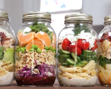 4 Pasta Salad in a Jar Recipes for the Perfect Healthy Lunch.