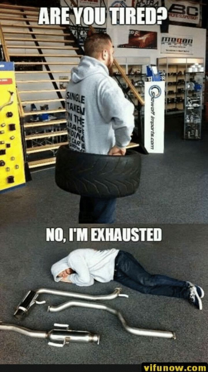 """37 Best Exhausted Memes - """"Are you tired? No, I'm exhausted."""""""