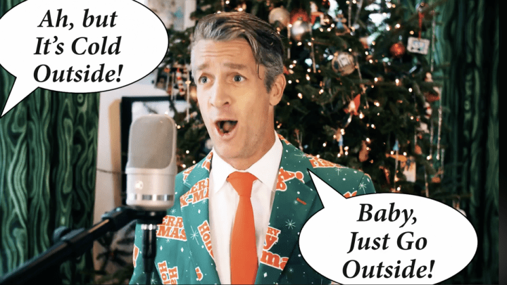 'Baby It's Cold Outside' Parody Hit by the Holderness Family.