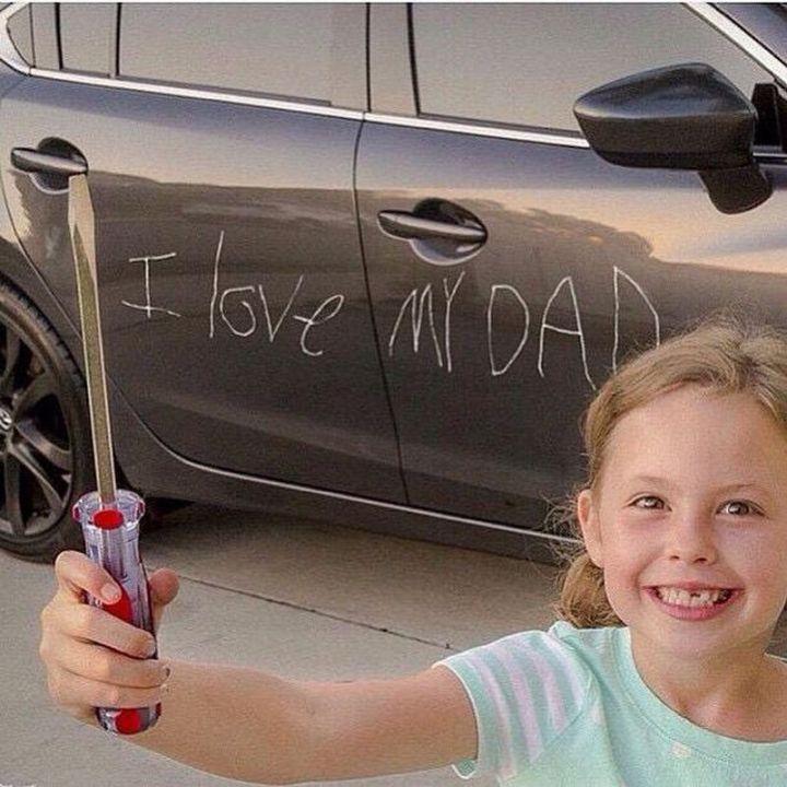 "71 Funny Dad Memes - ""I love my dad."""