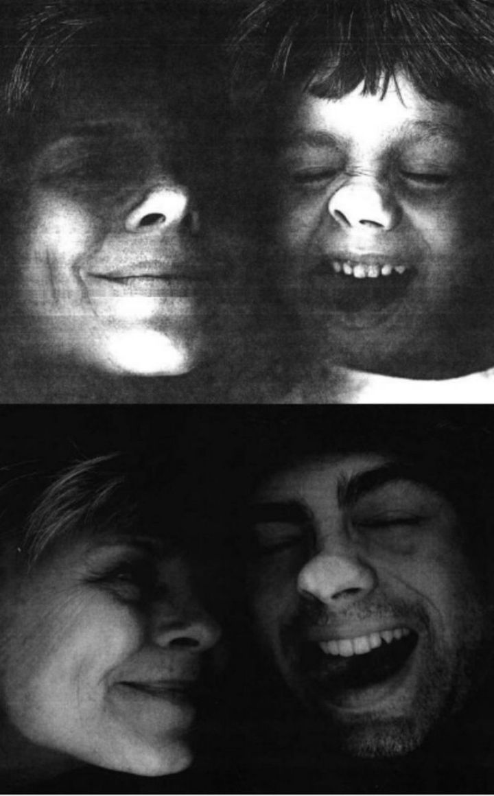 """35 Then and now pictures - """"My son and I planted our faces on a copier, then and now pictures."""""""