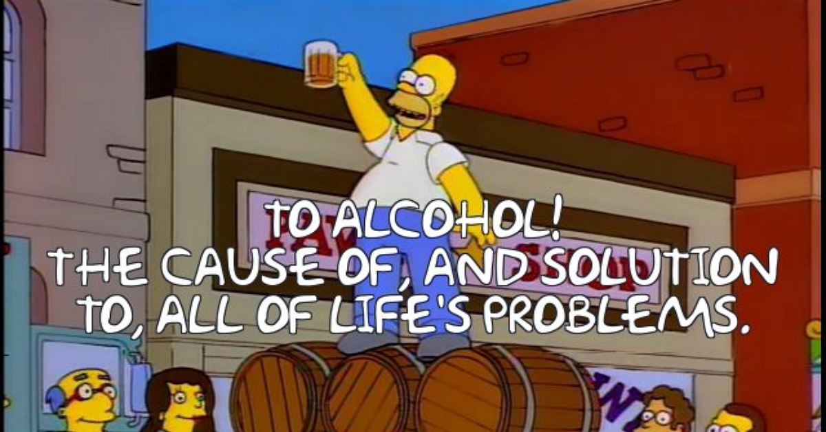 Quote Of The Day Dead Homer Society