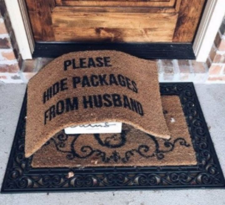 "49 Marriage Memes - ""Please hide packages from the husband."""