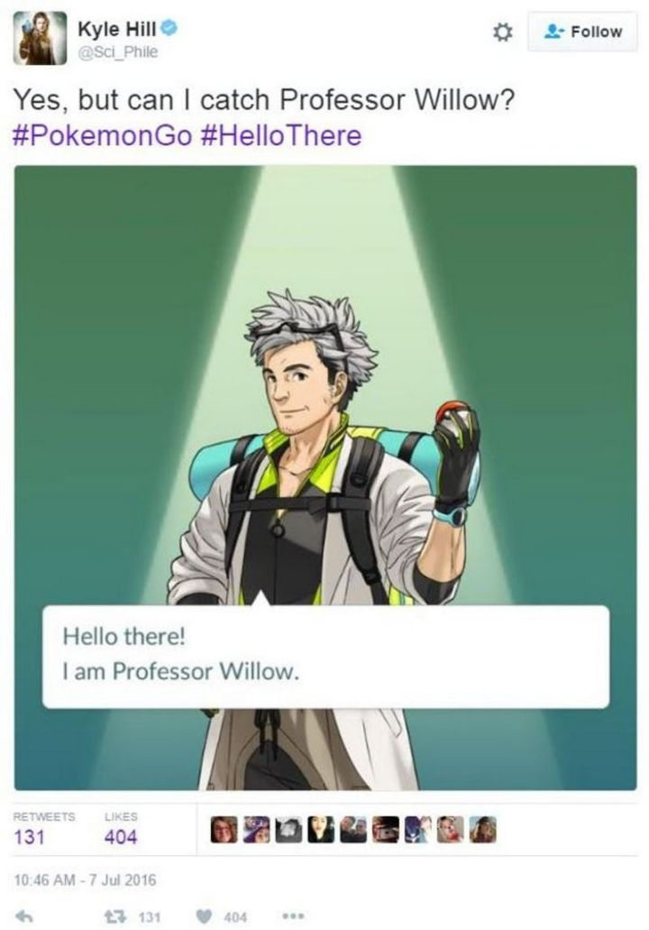 "71 Pokémon memes - ""Hello there! I am Professor Willow. Yes, but can I catch Professor Willow?"""