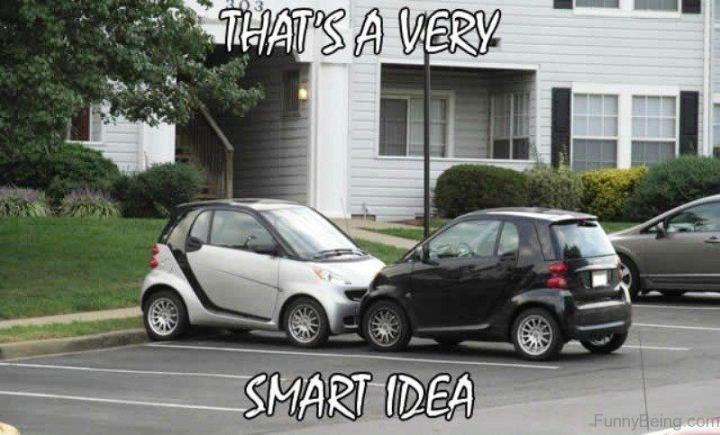 "85 Car Memes - ""That's a very Smart idea."""