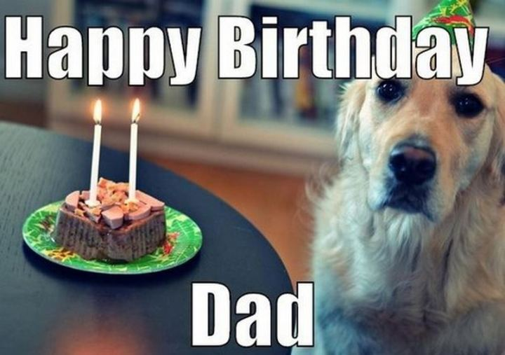 "47 Happy Birthday Dad Memes - ""Happy birthday dad."""