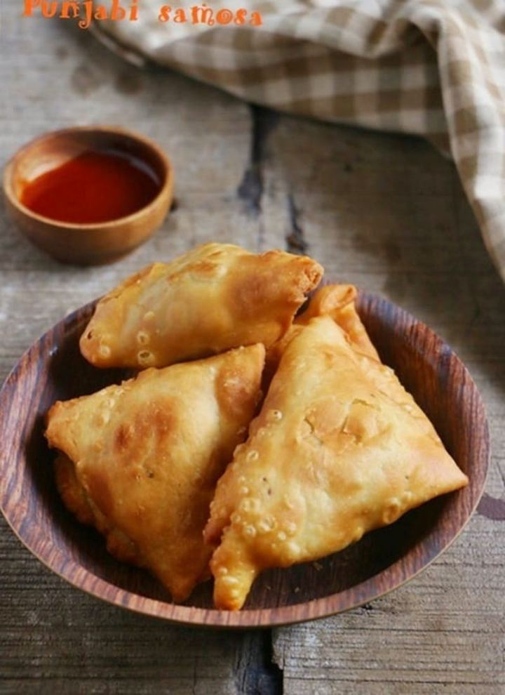 35 Indian Appetizer Recipes - Vegetable Samosa (South Indian Style Samsa).