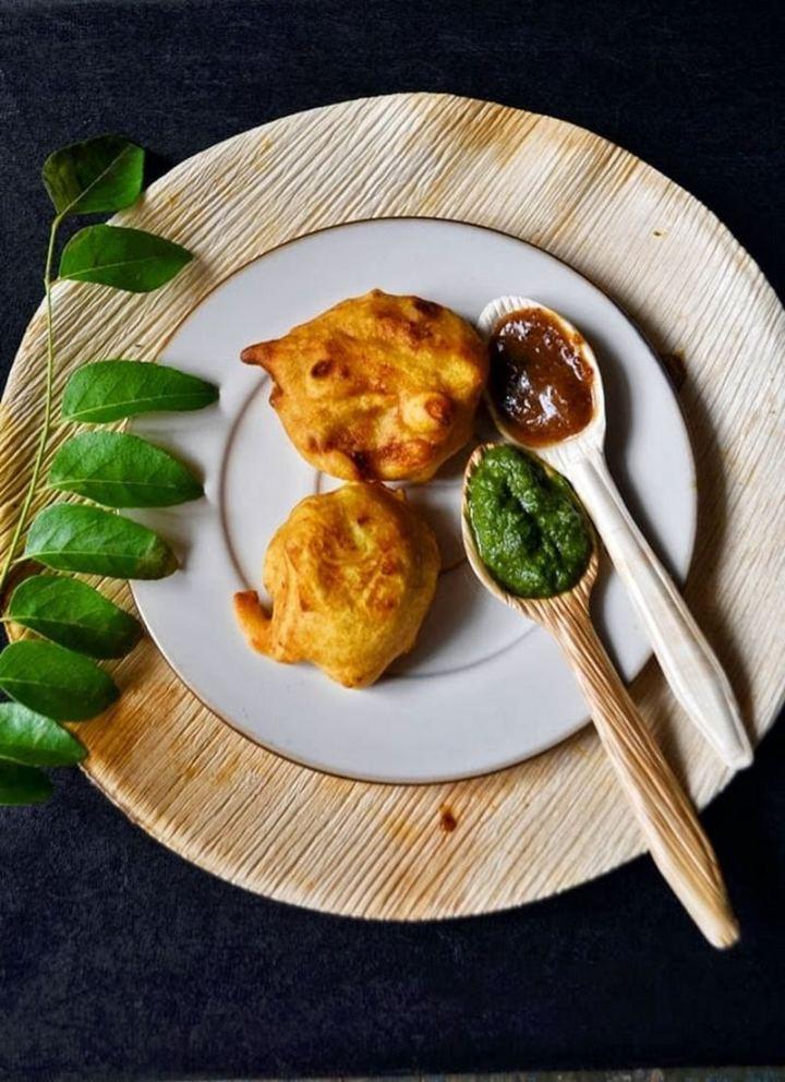35 Indian Appetizer Recipes - Batata Vada.
