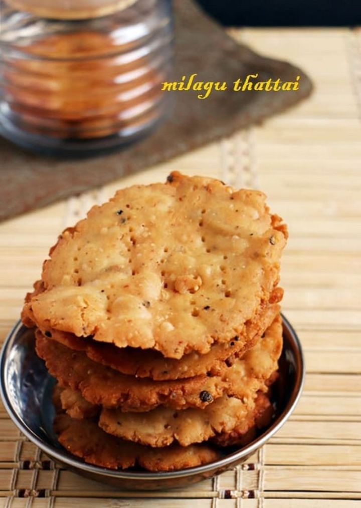 35 Indian Appetizer Recipes - Milagu Thattai.