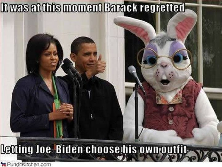 "51 Joe Biden Memes - ""It was at this moment Barack regretted letting Joe Biden choose his own outfit."""