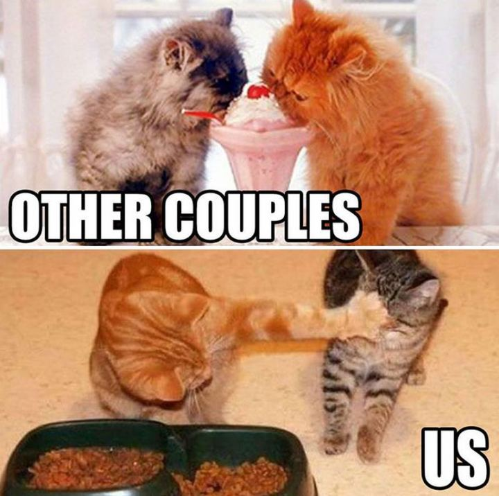 """Other couples VS Us."""