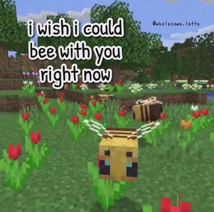 """""""I wish I could bee with you right now."""""""