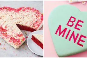 14 Heart Cakes to Celebrate Valentine's Day with Heart Shaped Goodness.