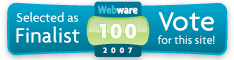 Webware 100 Button