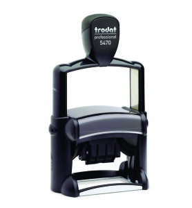 Trodat 5470 Self-Inking Professional Date Stamp
