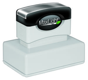 MaxLight PW-165 Pre-Inked Stamp