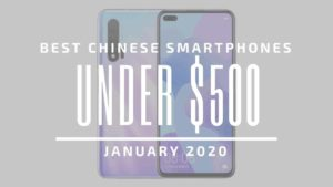 If you're looking for your next flagship to celebrate the new year, then let's start with selection of the best Chinese phones currently on the market.
