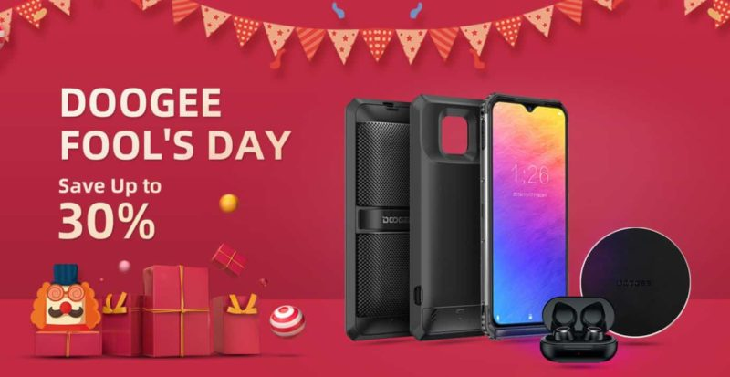 Even though the April Fools day is already way behind us, there are still some leftover promo events alive and kicking.  One of them is certainly the DOOGEE April Fools