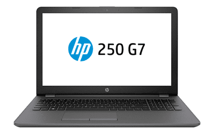 HP 250 G7 is an affordable office and business laptop that packs up to the latest Intel Whiskey Lake CPU, 32GB RAM and a large NVMe SSD.