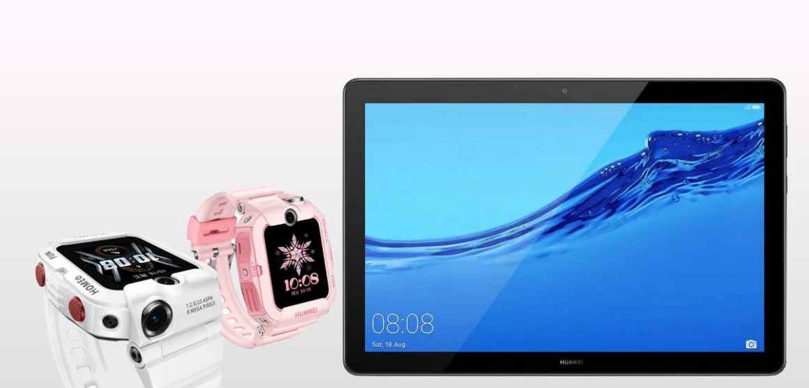 HUAWEI CHILDREN WATCH 4X AND ENJOY TABLET 2 REVEALED