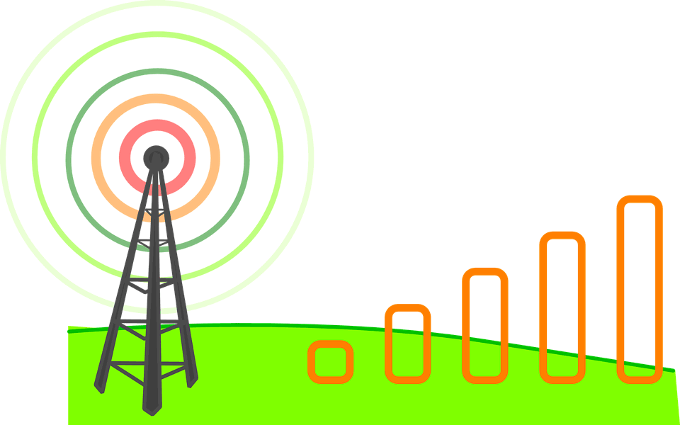 This is How to increase the network signals of your phone, even where there's no network.  Have you ever been to a place where there's no network