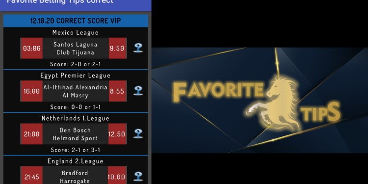 Best Betting Tips 2020 – Download Favorite Betting Correct Score tips.  Other premium betting tips app and apk are available on our site which ranges from Forza bettings tips
