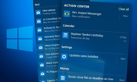 8 solutions for when the action center won't open in Windows 10 ‣ TechReen