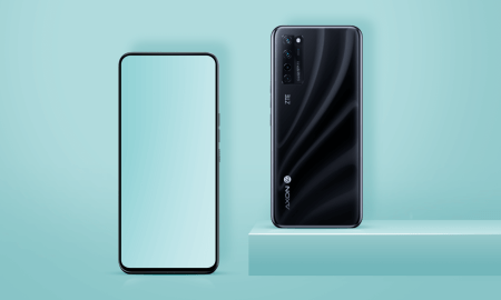 This mobile arrives as the first with a camera under the screen: this is how it looks