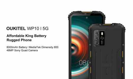 Top 6 big battery OUKITEL smartphones