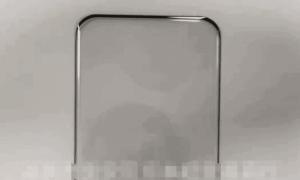 Xiaomi Mi 11 real protective film shows a quad-curved display
