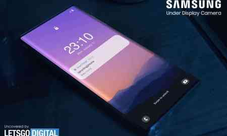 A potential Galaxy Note 21 Ultra appears with a sub-screen camera