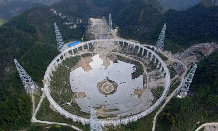 China to Open its Huge FAST Telescope in April ‣ TechReen
